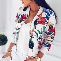 Ženska jakna sa cvijetovima
