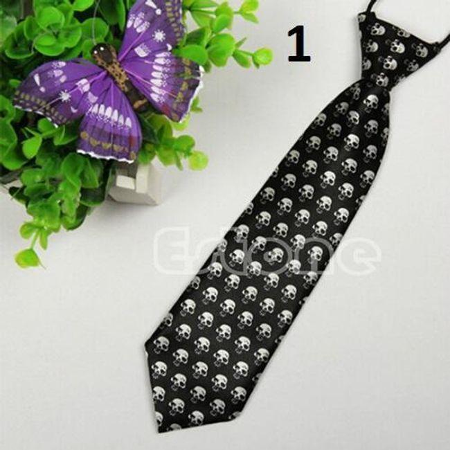 Kravata na elastiki - veseli motivi 1