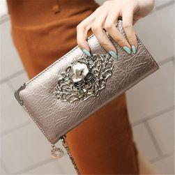 Luksuzni novčanik sa lobanjom - 5 boja