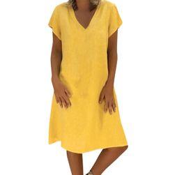 Kısa kollu bayan elbise Merla