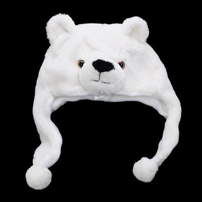 Roztomilá čepice  - medvídek 1