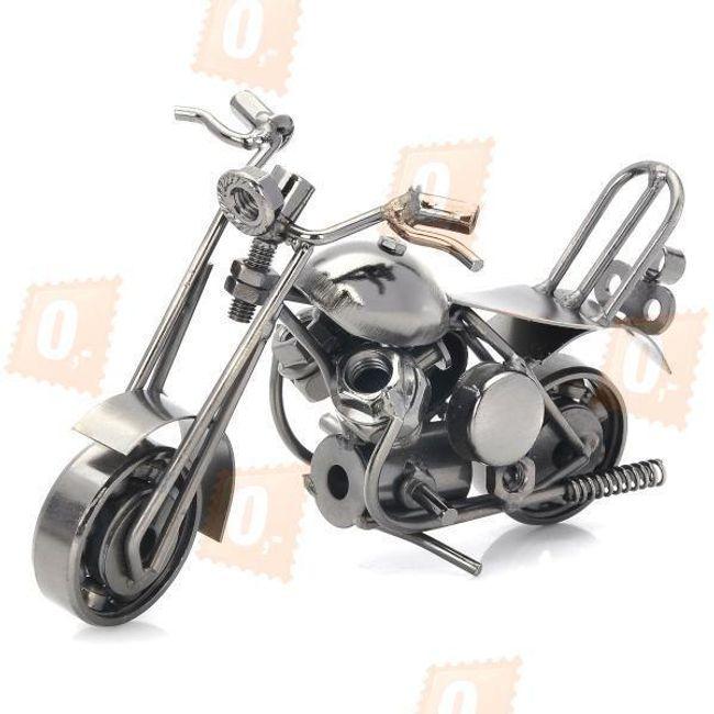 Kovový model motorky - dekorace 1