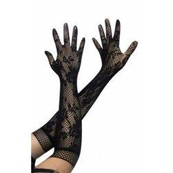 Dugačke čipkaste rukavice za haljinu - 3 boje