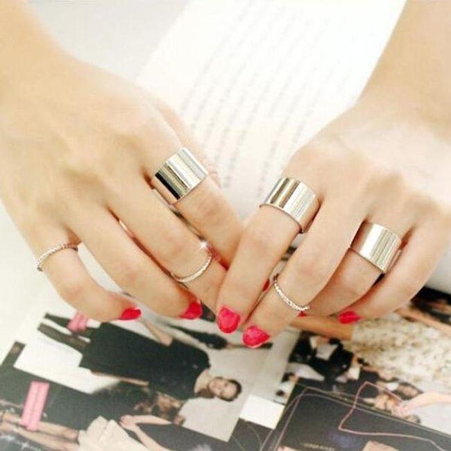 3 kusy prstýnků 1