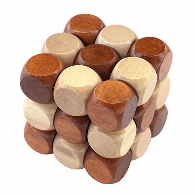 3D puzzle - hlavolam pro děti i dospělé 1