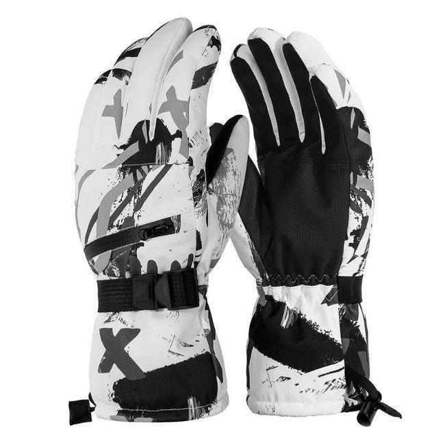 Unisex zimowe rękawice WG110 1