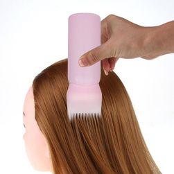 Флакон с расческой для окрашивания волос HK52