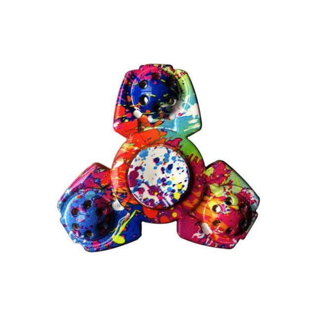 Fidget spiner v originalnih oblikah in barvah 1