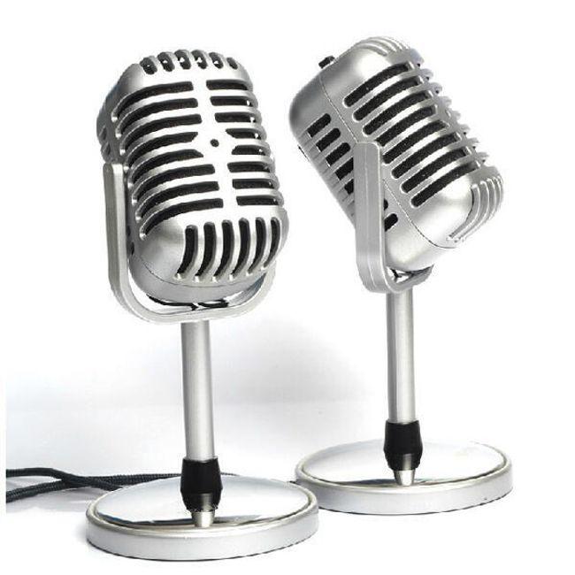 Retro mikrofon 1