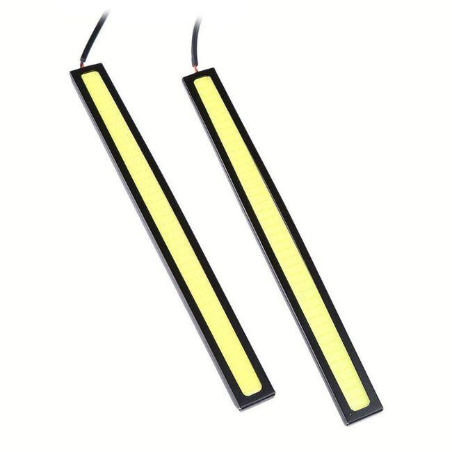 LED osvětlení na přední nárazník - mix barev 1