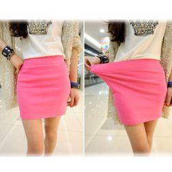 Kratka elastična suknja - 5 boja