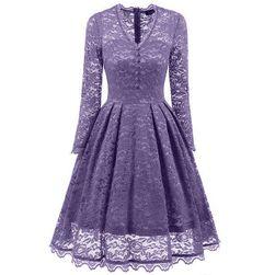 Vintage krajkové šaty - 8 barev