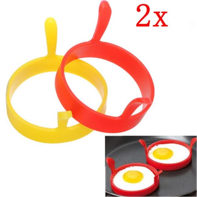 Силиконови форми за яйца на очи - 2 бройки 1