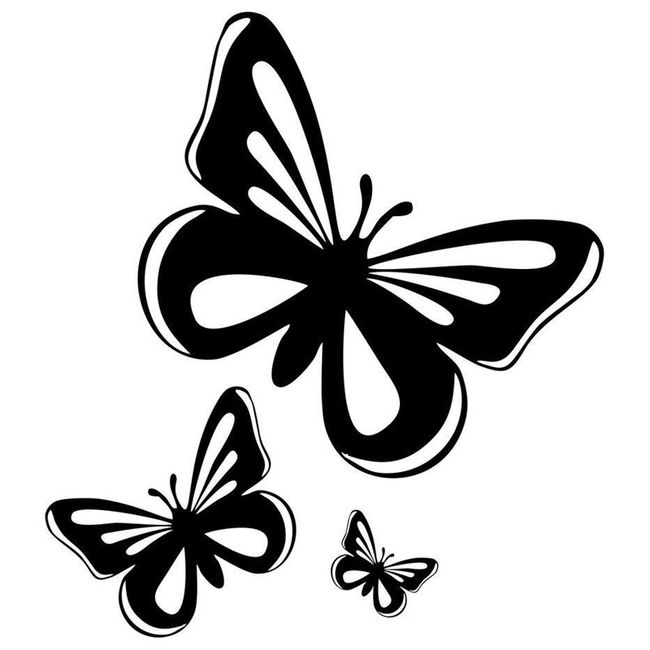 Nalepnica za automobile - leptiri 1