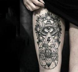 Privremena tetovaža sa misterioznim motivom