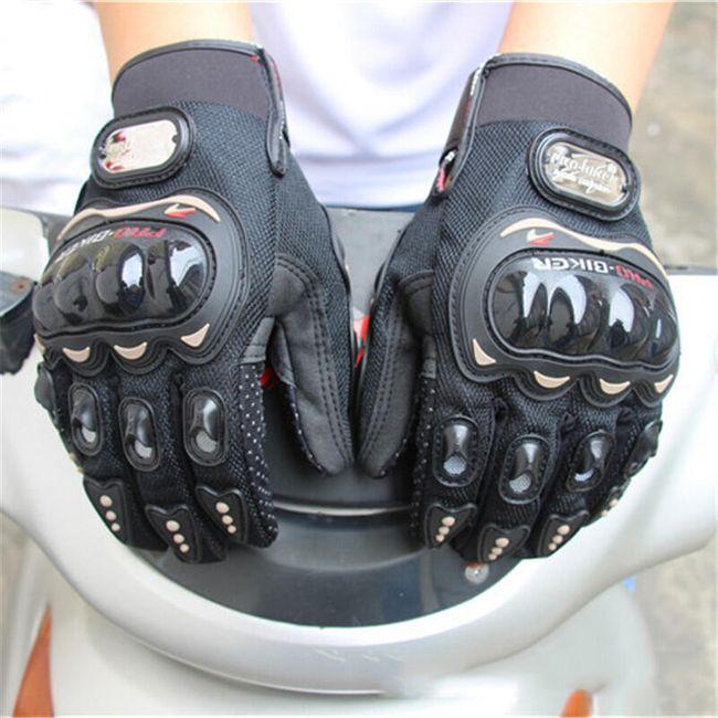 Motocyklové rukavice pro dámy a pány 1