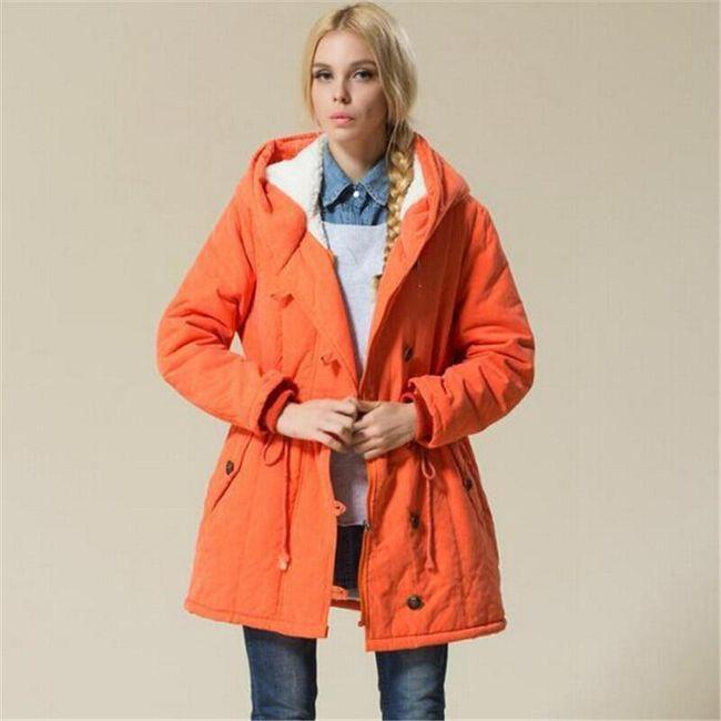 Dámská zimní bunda Benjamina v plus size velikostech 1