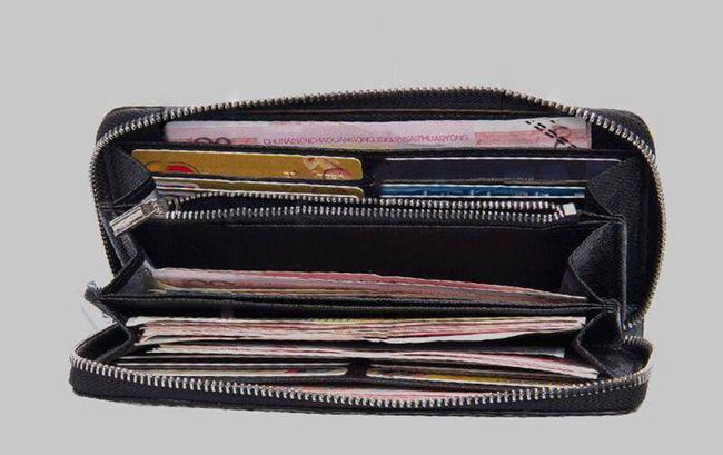 Eredeti kivitelű férfi pénztárca - 3 szín