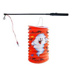Lampion Halloween 15 cm se svítící hůlkou 39 cm RZ_204690