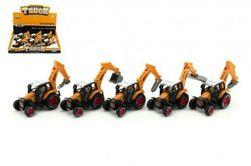 Traktorszerkezet fém / műanyag 15 cm-es keveréke a visszahúzáshoz RM_00312668