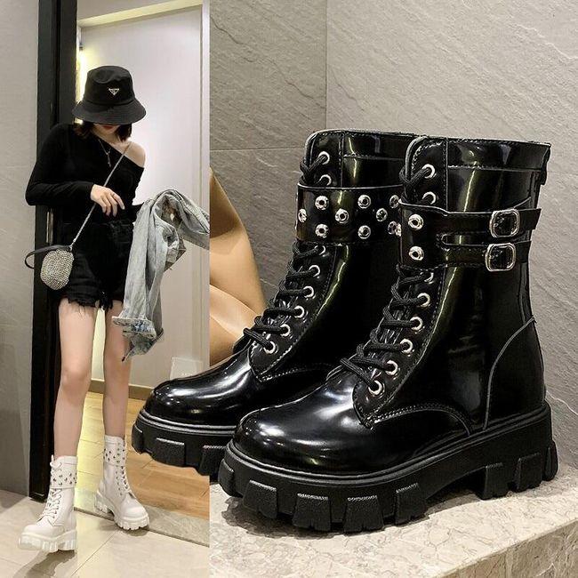 Damskie buty do kostki TF9279 1