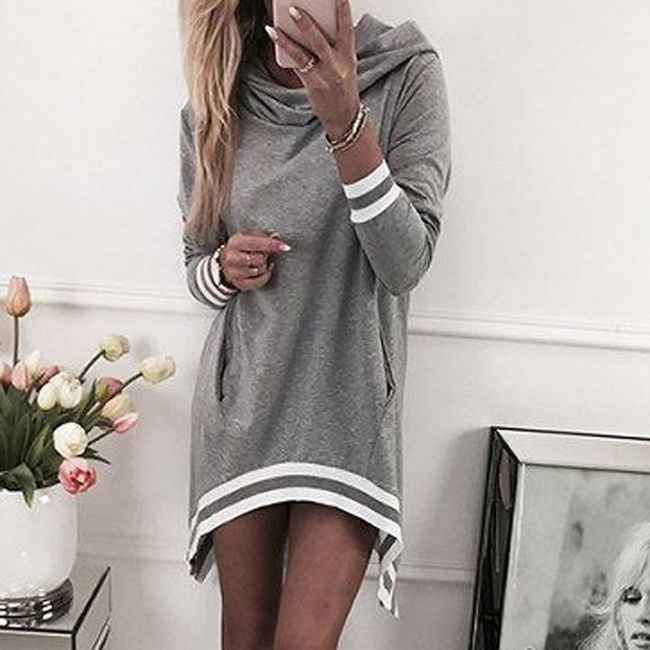 Ležerna haljina sa džepovima - 3 boje 1