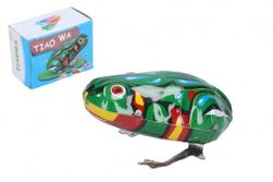 Žaba na kľúčik kovová 7x5 cm v krabičke 7x5x4cm RM_49005088