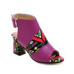 Дамски сандали на токче TF5696