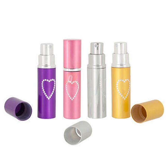 Flakonik na perfumy z serduszkiem 1