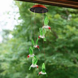 Solarna lampa z kolibrami