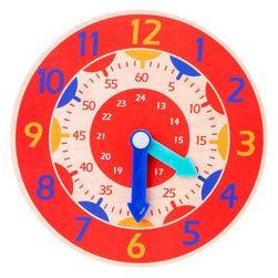 Детски дървен часовник B07646