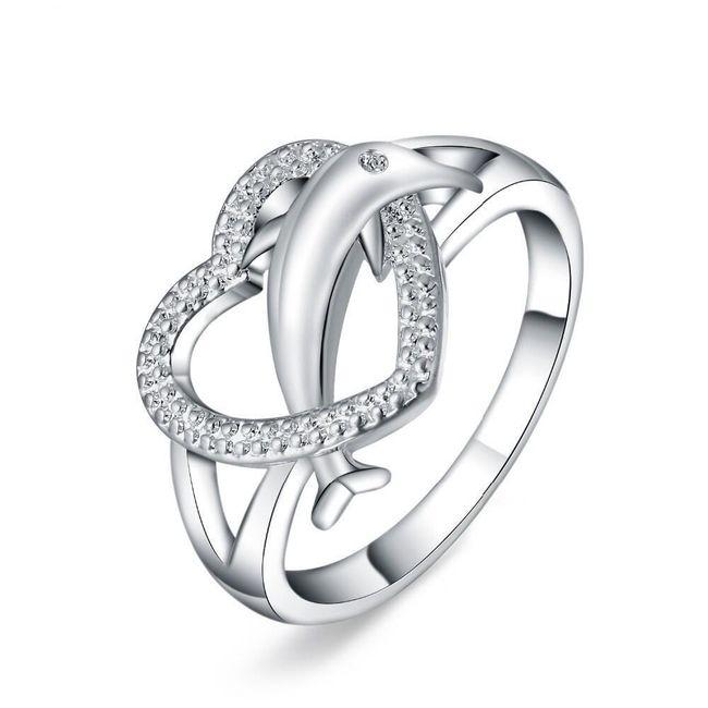 Женское кольцо B04146 1