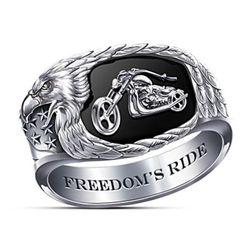 Moški prstan Freedom