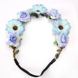 Traka za kosu sa cvetićem Summer