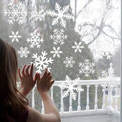 Karácsonyi ablak matricák