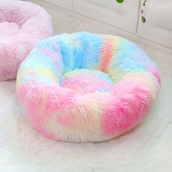 Pet bed Fluffy colorful-50cm
