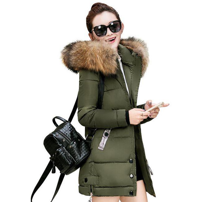 Prošivana dugačka jakna Gigi - 5 boja 1