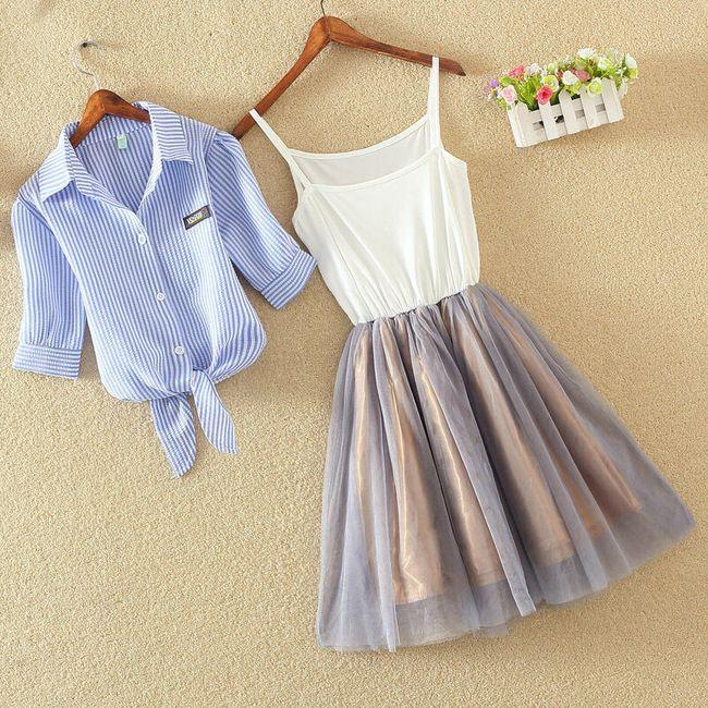 Set haljine i košulje na vezivanje 1