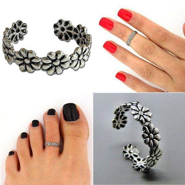 Универсальное цветочное кольцо 1
