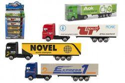 Tovornjak s prikolico kovina/plastika 20cm RM_00850023
