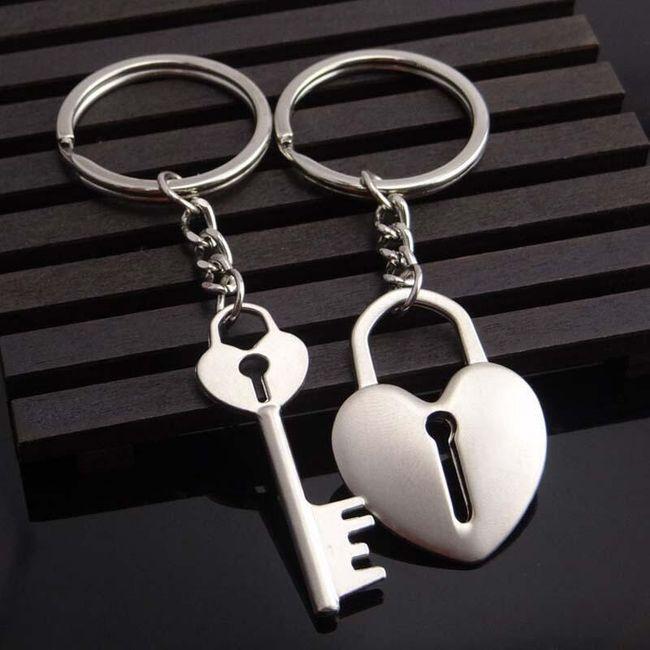 Set klíčenek pro zamilované páry - více variant 1