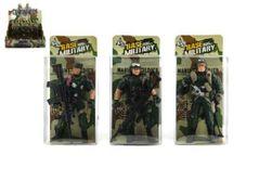 Войник фигура пластмасови 10 см смесени видове в кутия RM_00312393