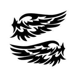 Стикери за страничните огледала - криле