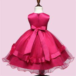 Dívčí šaty s mašličkami - 3 barvy