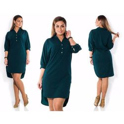 Koszulowa sukienka Ambrosia - 4 kolory