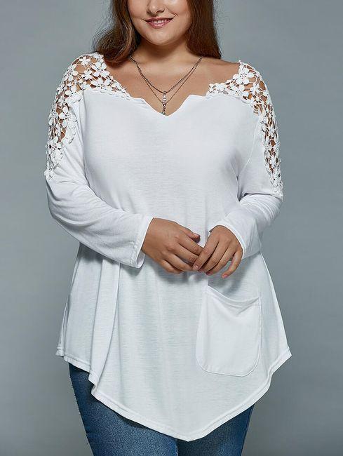 Ženska opuštena majica Melia - 5 boja 1