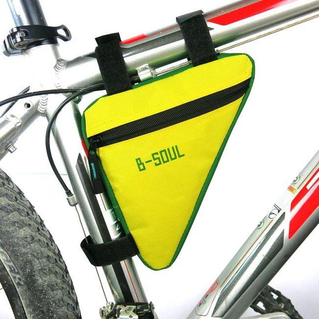 Cyklistický trojúhelník na kolo - 4 barvy 1