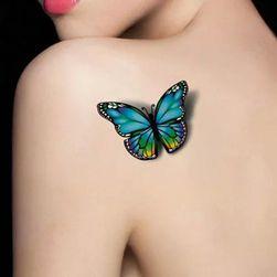 Tatuaj temporar cu motiv fluture - 2 bucăți