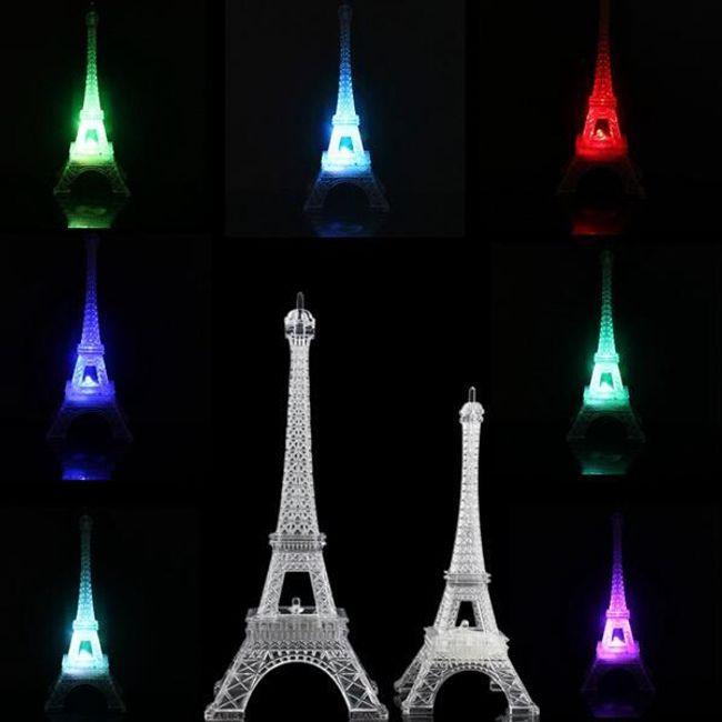 LED svetilka v obliki Eifflovega stolpa 1