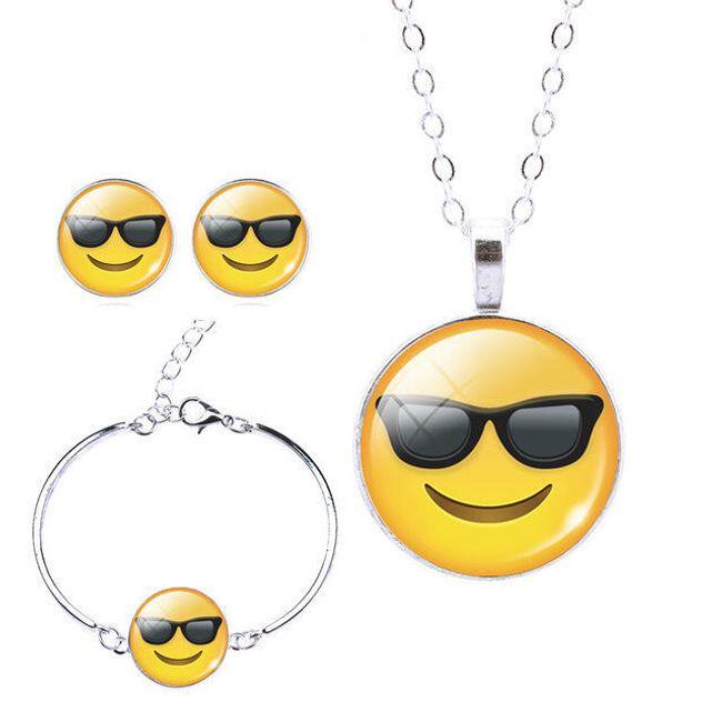 Emoji set šperků - 13 variant 1